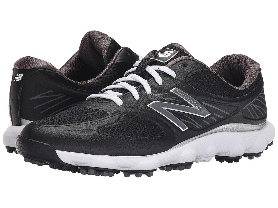 New Balance Golf NBGW1001 Minimus Black Womens Golf Shoes