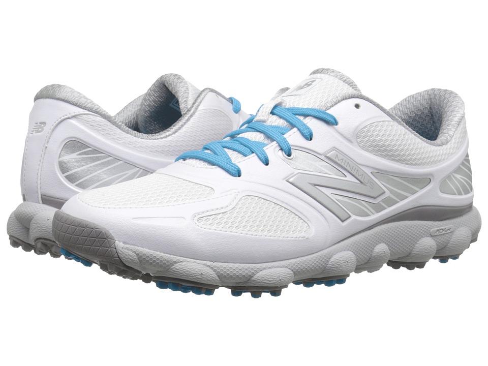 New Balance Golf - NBGW1001 Minimus (White) Womens Golf Shoes