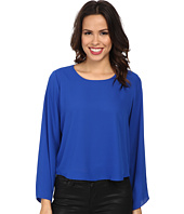 Vince Camuto - Bell Sleeve Crew Neck Blouse