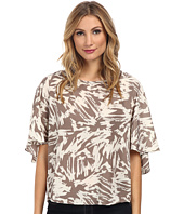 Vince Camuto - Cape Back Floral Burst Blouse