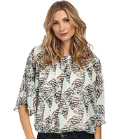 Vince Camuto - Breeze Blocks Batwing Sleeve Blouse