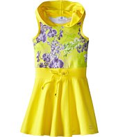 Versace Kids - Hooded Dress w/ Floral Print (Toddler/Little Kids)