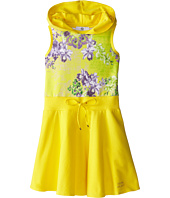 Versace Kids - Hooded Dress w/ Floral Print (Big Kids)