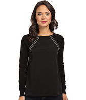 Calvin Klein - Sweater w/ Shoulder Jewels