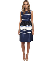 Kate Spade New York - Holiday Stripe Fit And Flare Dress