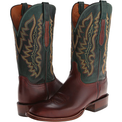 CL8005.W8 (Tan/Forrest Green) Cowboy Boots