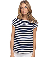 Kate Spade New York - Planetary Stripe Boatneck Top