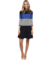 Kate Spade New York - Striped Scuba Dress