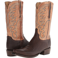 HL1511.73 (Jurassic Brown/Tan Burnished) Cowboy Boots