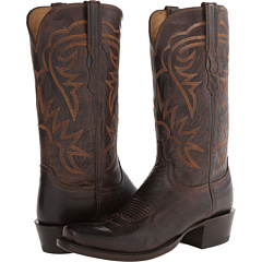 HL1503.73 (Chocolate Burnished) Cowboy Boots