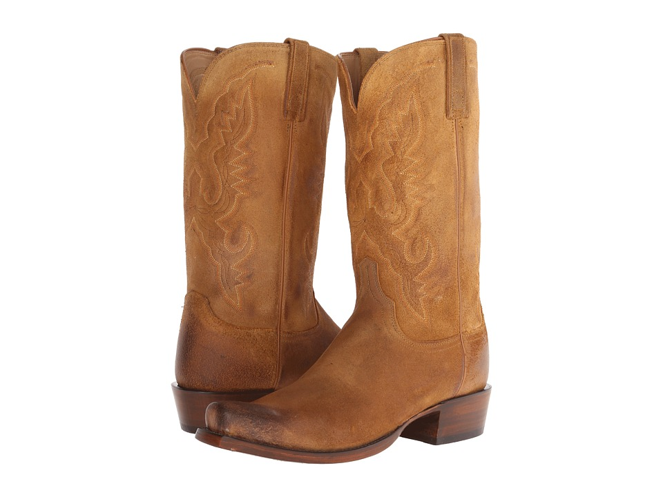 Lucchese HL1500.73 (Sand Burnished) Cowboy Boots