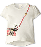 Little Marc Jacobs - Printed Hi Lo Hem S/S Tee (Infant)
