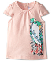 Little Marc Jacobs - Parrot Print Cap Sleeve Tee (Infant)