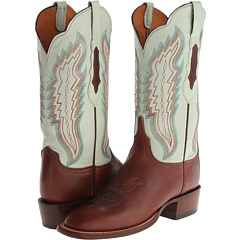 CL8006.W8 (Tan/Soft Green) Cowboy Boots