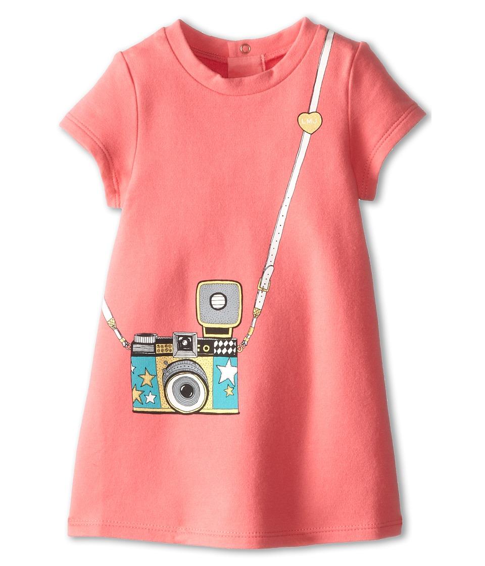Little Marc Jacobs Tromp LOeil Dress Infant Rose Girls Dress