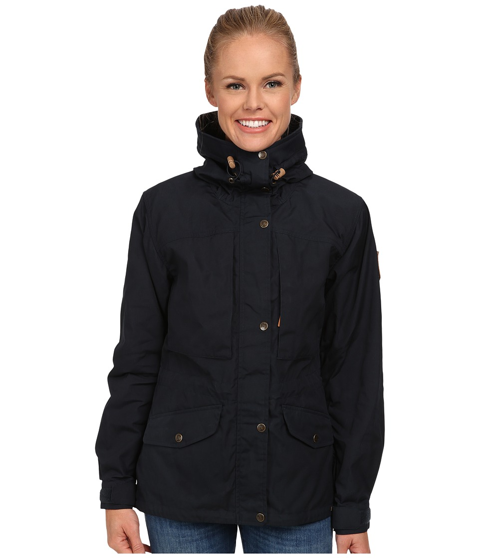 Fjallraven Sarek Trekking Jacket (Dark Navy) Women