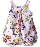 Versace Kids - Sleeveless Romper w/ Allover Butterfly Print (Infant)