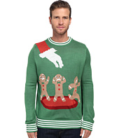 tipsy elves - Gingerbread Nightmare Ugly Christmas Sweater