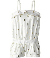 Little Marc Jacobs - Slub Jersey Foil Print Romper (Toddler/Little Kid)