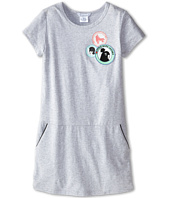 Little Marc Jacobs - Fleece Dress with Pockets and Bandana (Little Kid/Big Kid)