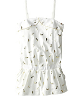 Little Marc Jacobs - Slub Jersey Foil Print Romper (Little Kid/Big Kid)