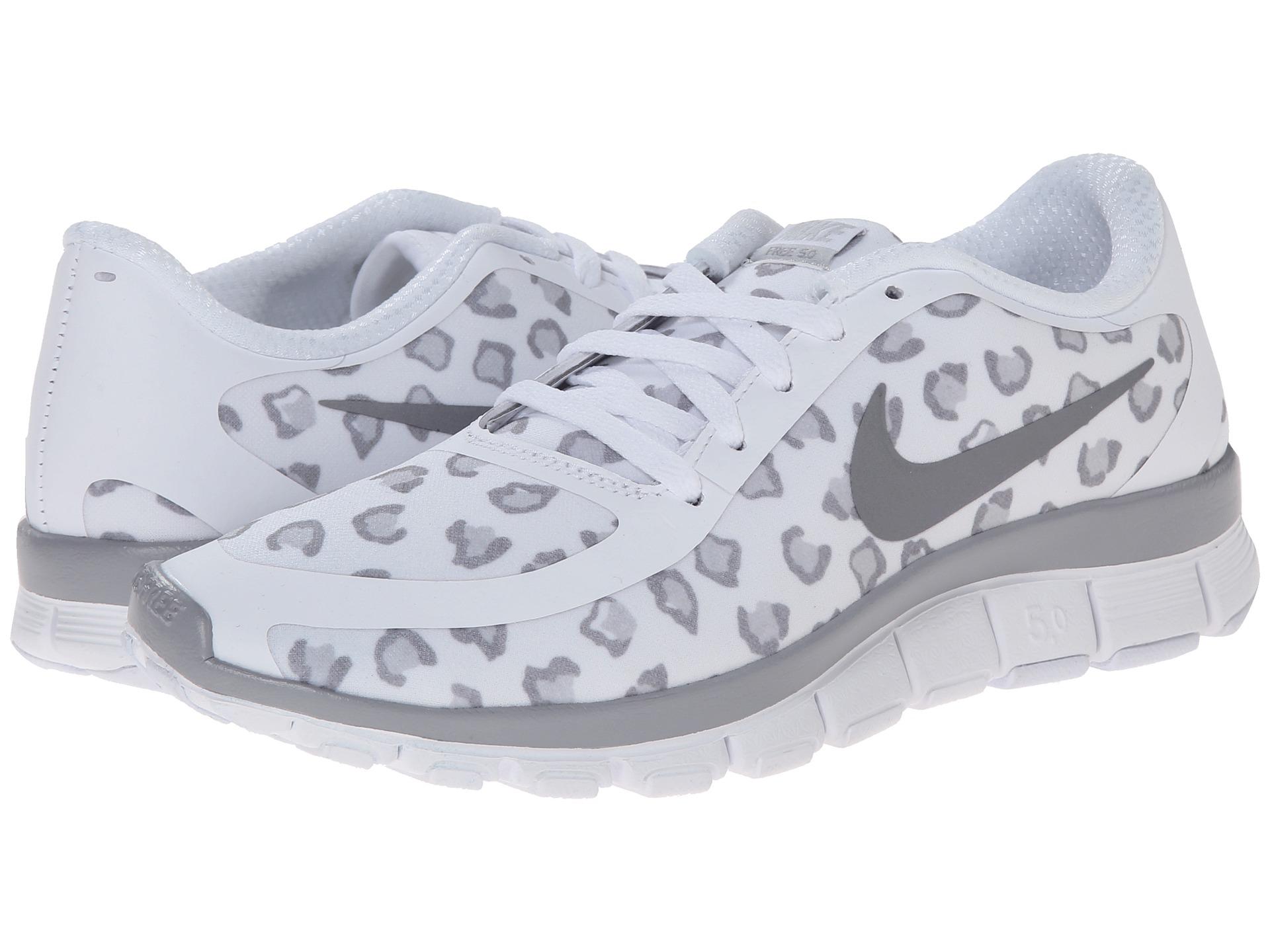 Nike Free 5.0 V4 Gray Volt White