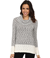 Calvin Klein - Marled Blocked Cowl Sweater