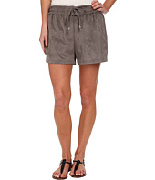 Vince Camuto - Pull-On Faux Suede Shorts w/ Drawstring