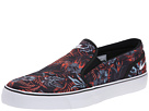 Nike Toki Slip Textile Print (Bright Mandarin/Black/Cool Grey/White)