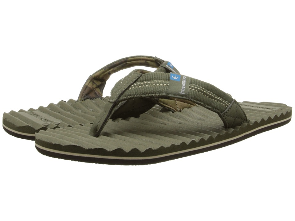 Freewaters - Scamp (Olive 2) Men's Sandals