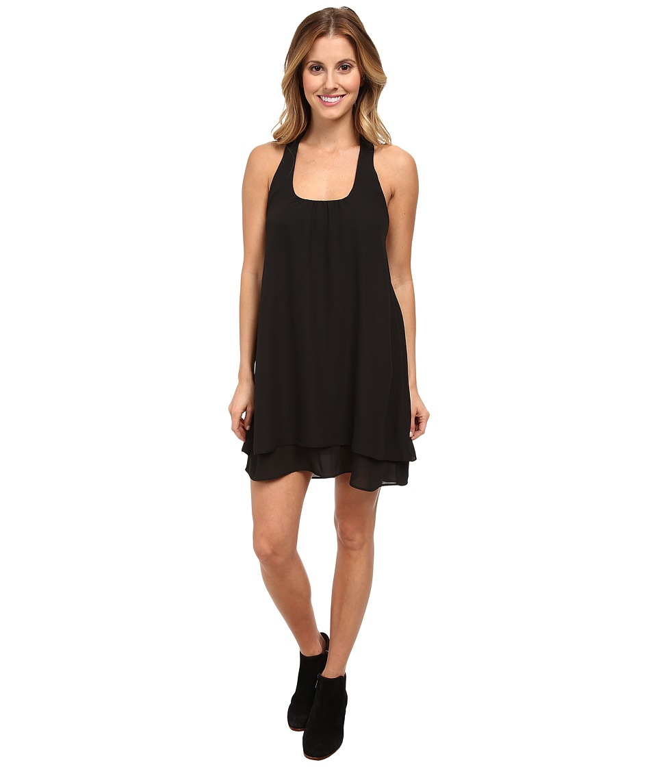 Lucy Love Bow Back Dress Black Womens Dress