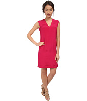 CoSTUME NATIONAL - V-Neck Shift Dress