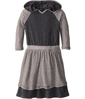 LAmade Kids - Hooded Raglan Dress (Little Kids)