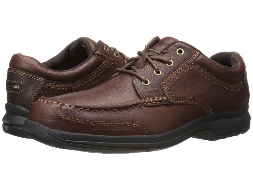 Rockport - Barrows Loft Brevenson (Tan) Mens Lace up casual Shoes