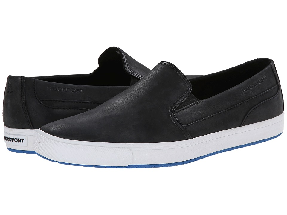 Rockport Path to Greatness Slip-on (Black Waxed Calf) Men