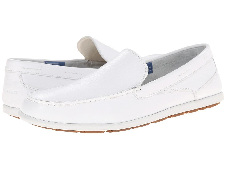 Rockport - Bennett Lane 3 Cape Noble 3 Venetian (White Washable Leather) Men
