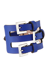 Alexander McQueen - Multi Buckle Leather Cuff Bracelet