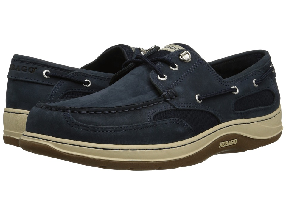 Sebago - Clovehitch II (Navy Nubuck) Mens Lace up casual Shoes
