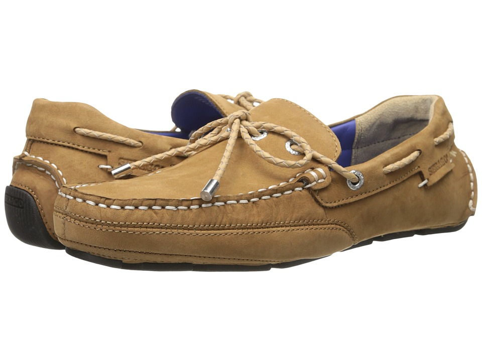 Sebago Kedge Tie Tan Nubuck Mens Shoes