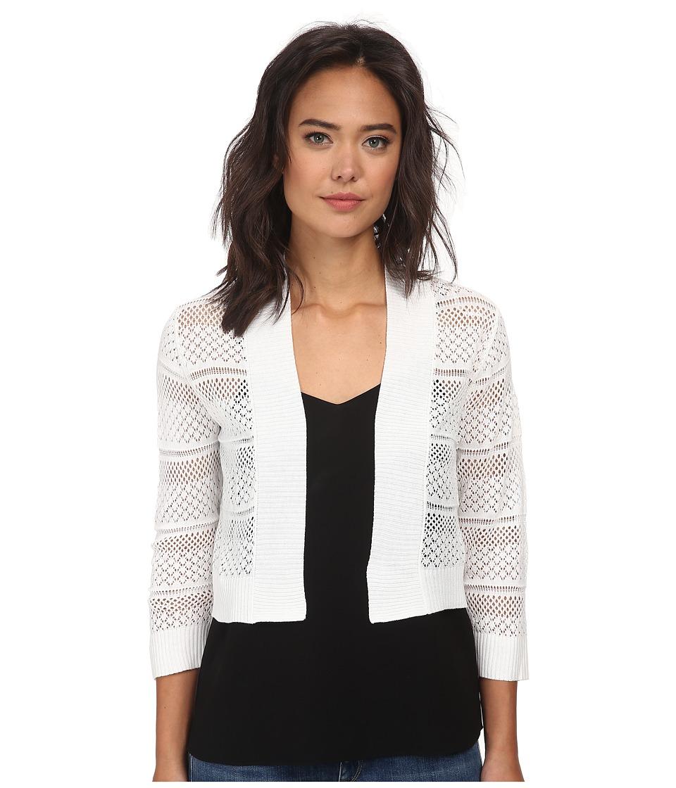 rsvp Bre Crochet Shrug Ivory Womens Sweater