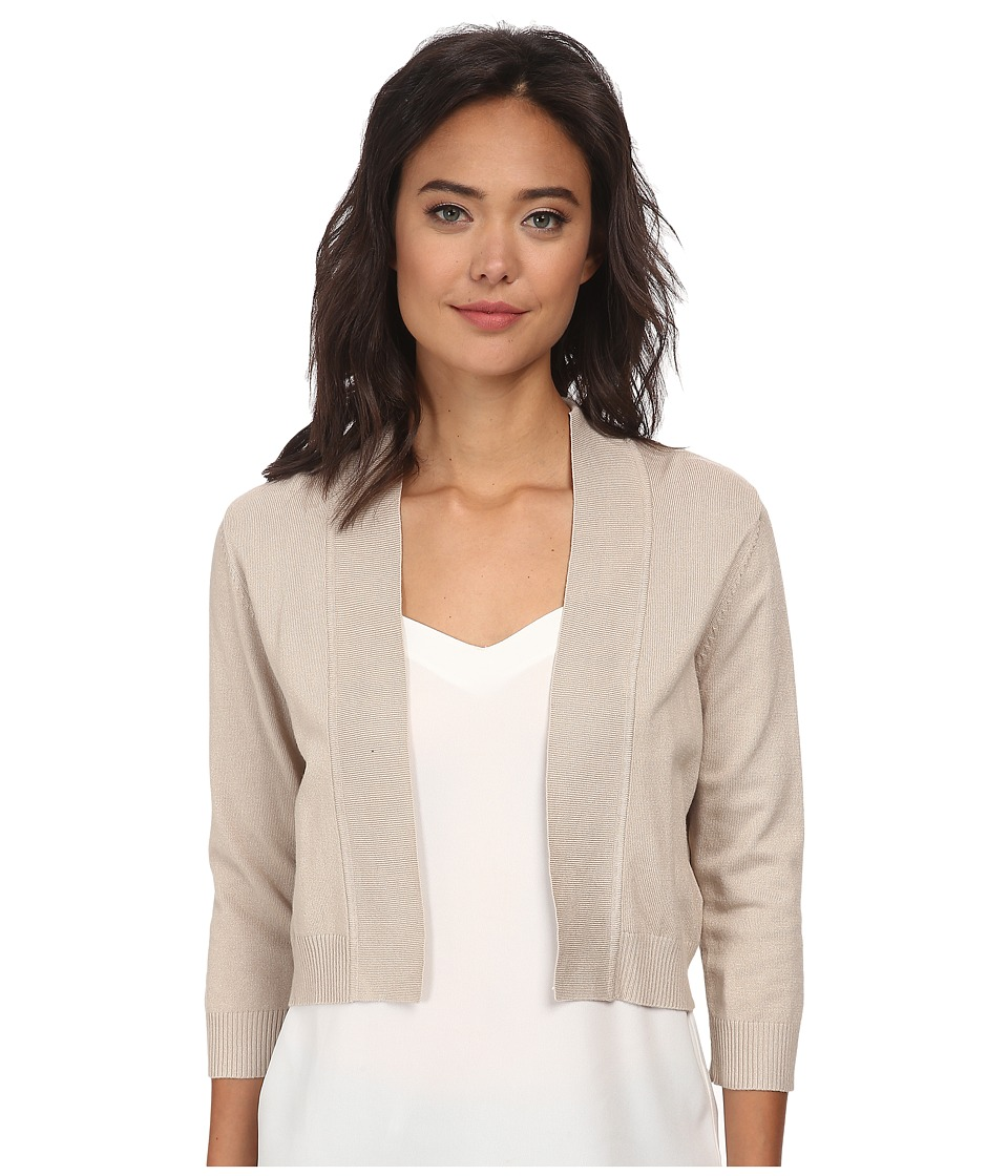 rsvp Bre Shrug Taupe Womens Sweater