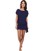 DKNY - Draped Solid Tunic Cover-Up