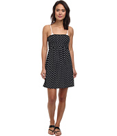 DKNY - Lets Hear It For The Dots Smocked Dress Cover-Up