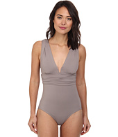DKNY - Beyond Glam Square U-Wire Maillot One-Piece