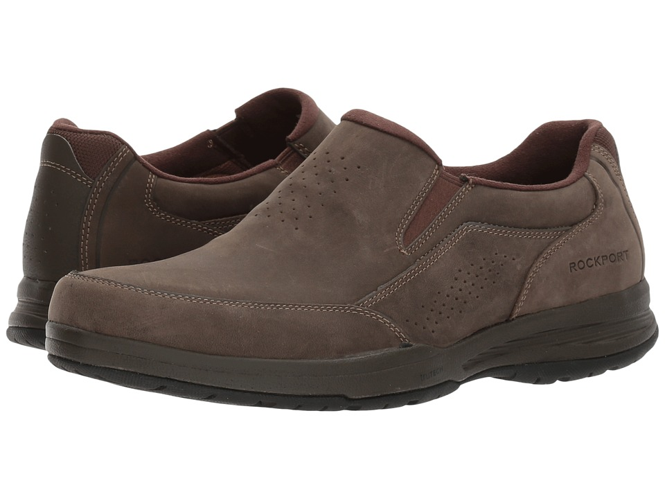 Rockport Barecove Park Slip-on (Dark Brown Oiled) Men