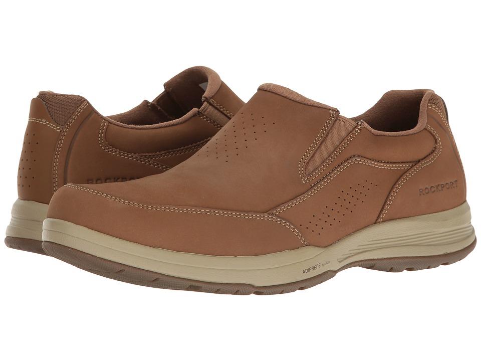 Rockport Barecove Park Slip-on (Tan Nubuck) Men's Slip on Shoes. On sale ...