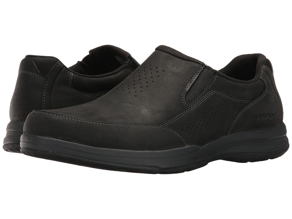 Rockport Barecove Park Slip-on (Black Oiled) Men