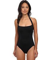 DKNY - Curve MIrage Contoured Blocked Maillot One-Piece