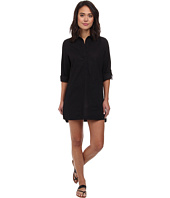 DKNY - Cover Ring Solids Shirt Cover-Up