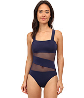 DKNY - Mesh Effect Splice Maillot One-Piece